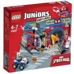 LEGO Juniors - Pókember búvóhelye 10687