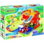 Wader 3 szintes garázs játszóterülettel 50400