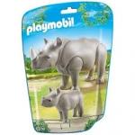 Playmobil Orrszarvú és kicsinye 6638